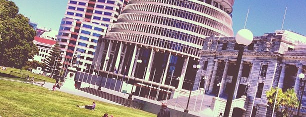 Parliament Grounds is one of NZ to go.