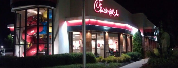 Chick-fil-A is one of Joshuaさんの保存済みスポット.
