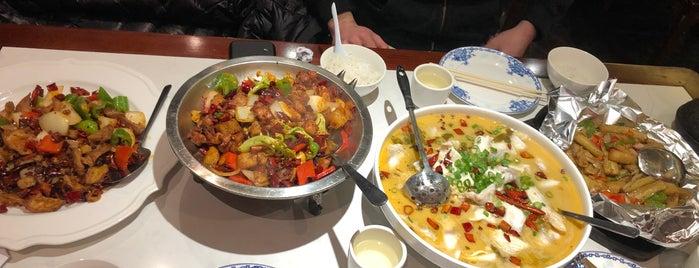 Guan Fu Szechuan 官府川菜 is one of NY.
