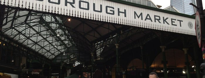 Borough Market is one of Favourites from Around the World.