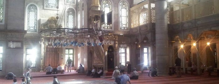 Eyüp Sultan Camii is one of Istanbul Must See.