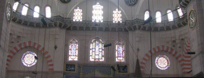 Moschea di Solimano is one of Istanbul Must See.
