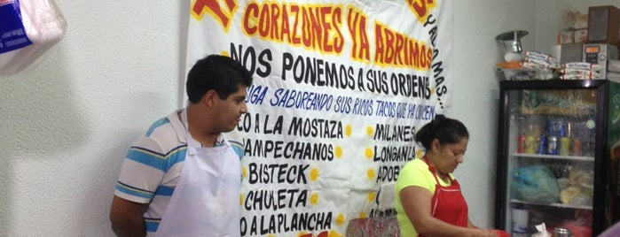 Tacos Las Brisas is one of Claudia 님이 좋아한 장소.
