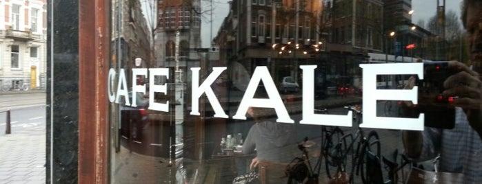 Café Kale is one of Lugares favoritos de Matthijs.