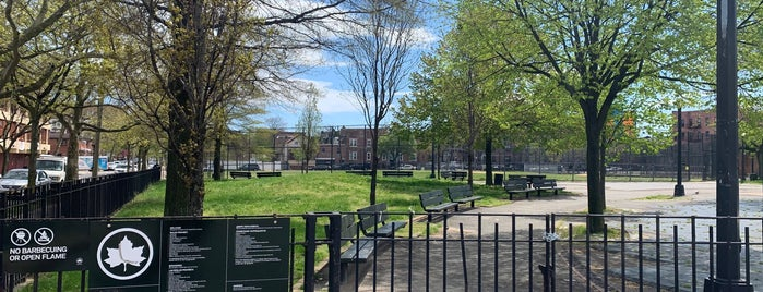 Grace Playground is one of Where to play ball — Public Courts.