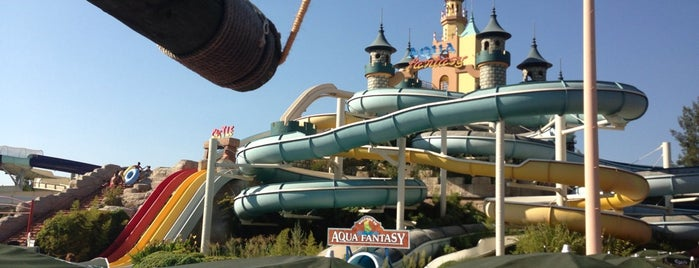 Aqua Fantasy Aquapark is one of Locais curtidos por Timuçin.