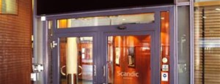 Scandic Hotel Byporten is one of Oslo // Norway.