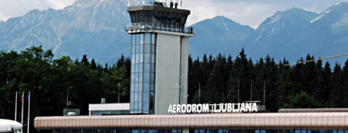 Aeropuerto de Liubliana Jože Pučnik (LJU) is one of visited airports.