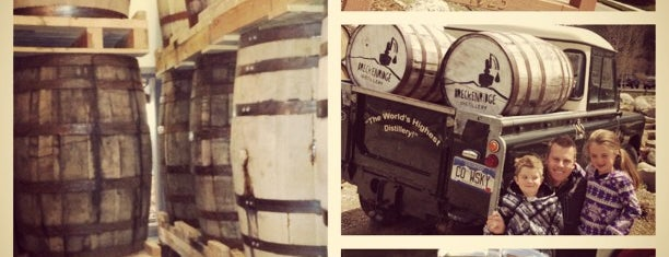 Breckenridge Distillery is one of Locais salvos de Leonardo.