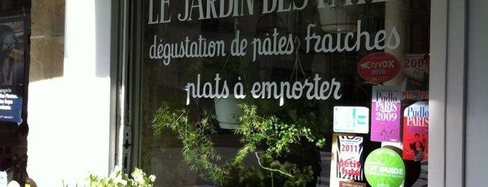 Le Jardin des Pâtes is one of Kelly's Saved Places.