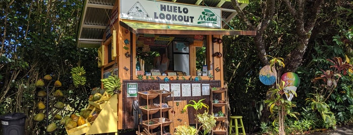 Huelo Lookout Fruit Stand is one of Hawaii.
