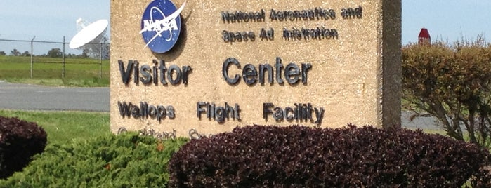NASA Wallops Flight Facility Visitor Center is one of #VirtualUS.