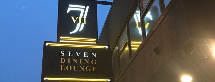 Seven Dining Lounge is one of Comedy Vancouver.