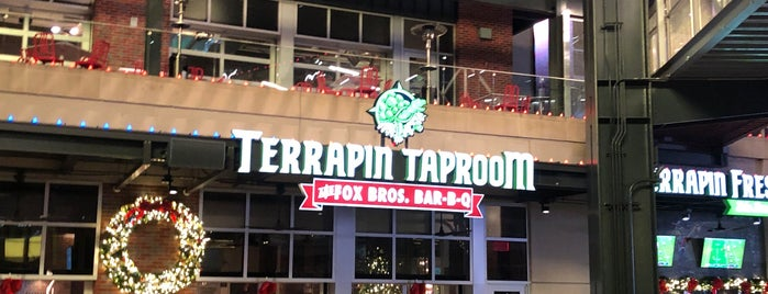Terrapin Taproom and Fox Bros. Bar-B-Q is one of Atl.