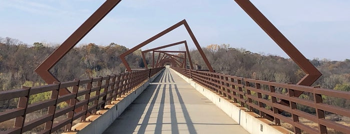 High Trestle Trail Bridge is one of Evan[Bu] Des Moines Hot Spots!.