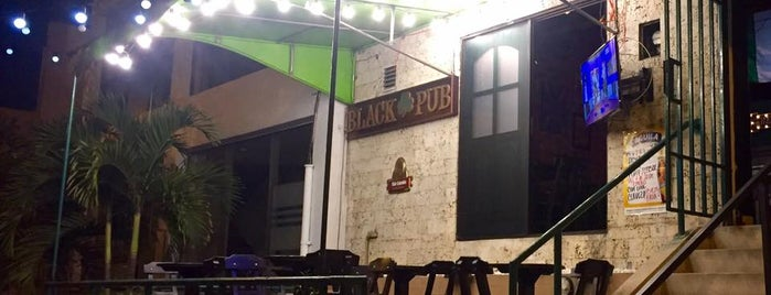 the black pub is one of Colombia.