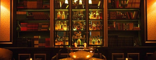 The Raines Law Room at The William is one of 10 of NYC's Best Bars with Books.