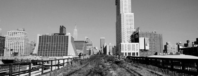 High Line is one of Abandoned NYC.