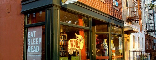 WORD Brooklyn is one of Bookstores NYC.