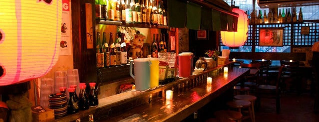 Sake Bar Decibel is one of Hit List: New York.