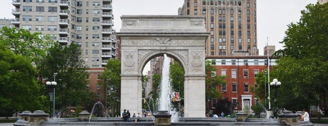 Washington Square Park is one of NYC basics 2018.