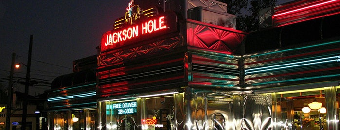 Jackson Hole is one of 9 of the Last Stand-Alone Diners in NYC.