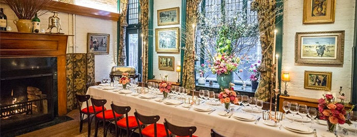 La Grenouille is one of 10 Best Authentic European Restaurants in NYC.