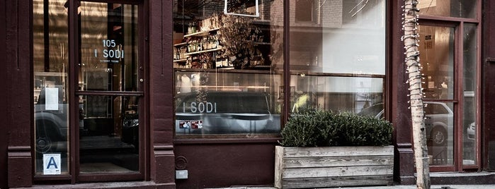 I Sodi is one of 10 Best Authentic European Restaurants in NYC.