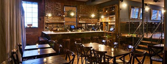 Hudson Clearwater is one of Hidden Bars & Restaurants in NYC.