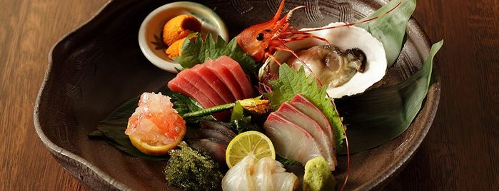 Sushi Azabu is one of 6 Hidden Japanese Restaurants in NYC.