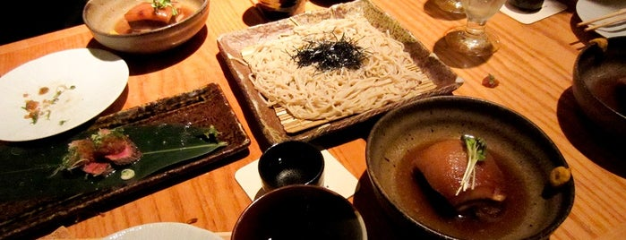 Sakagura is one of 6 Hidden Japanese Restaurants in NYC.