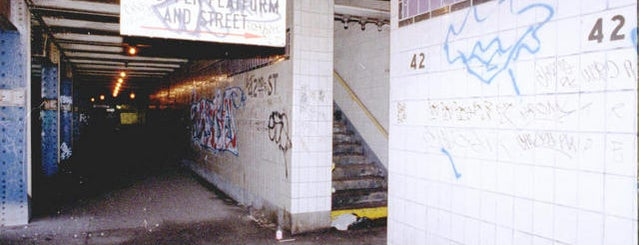 MTA Subway - 42nd St/Times Square/Port Authority Bus Terminal (A/C/E/N/Q/R/W/S/1/2/3/7) is one of Abandoned NYC.