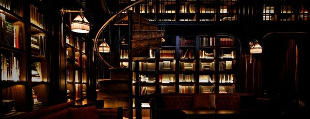 The Library at The NoMad is one of 10 of NYC's Best Bars with Books.