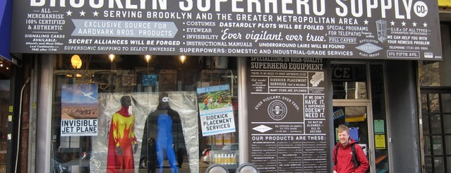 Brooklyn Superhero Supply Co. is one of nyc.