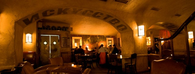 Pravda is one of Hidden Bars & Restaurants in NYC.