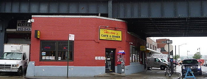 Hector's Cafe & Diner is one of 9 of the Last Stand-Alone Diners in NYC.