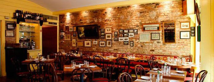 Kafana is one of 10 Best Authentic European Restaurants in NYC.