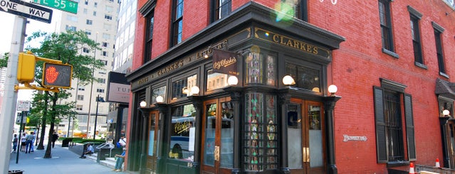 P.J. Clarke's is one of NYC basics 2018.