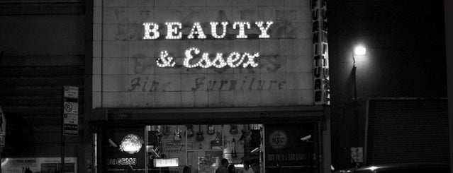 Beauty & Essex is one of NYC.