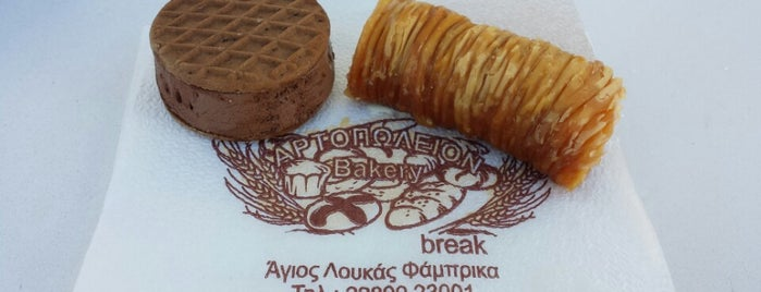 Break is one of Eat Greece.