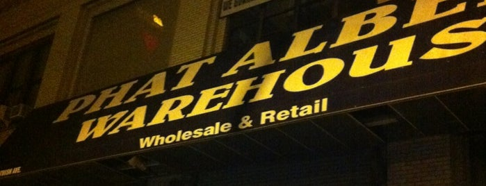 Phat Albert's is one of Shopping Low Cost In NYC.