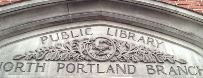 Multnomah County Library - North Portland is one of Portlandia Pilgrimage.