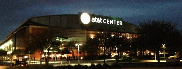 AT&T Center is one of NBA Stadiums.