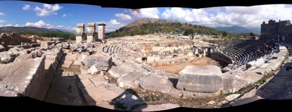 Xanthos is one of * ECOTOURISM GUIDE *.