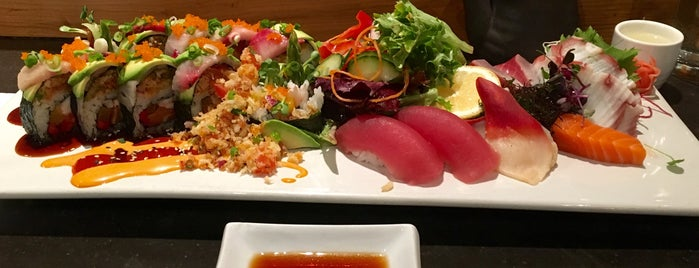 Maru Sushi & Grill is one of 25 Top Sushi Spots in the U.S..