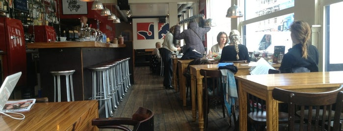 Kingfisher Cafe is one of My Amsterdam indulgences....