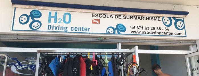 H2O Diving Center Palamos is one of Diving sites Costa Brava.