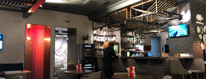 Лосось бар is one of Ресторан.