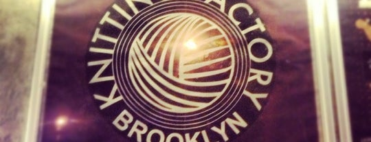 Knitting Factory is one of USA NYC BK Williamsburg.