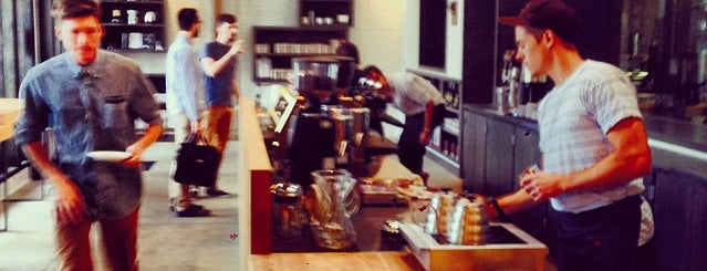 Stumptown Coffee Roasters is one of LA.